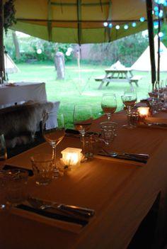 Trouwen // tenten // bruiloft // trouwfeest // Nordic Tipi