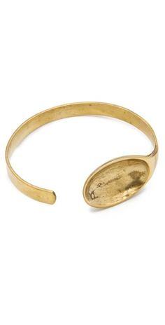 Monserat De Lucca Gold Spoon Bracelet