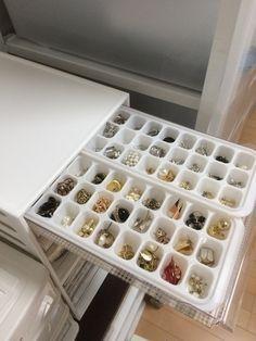 製氷皿で収納