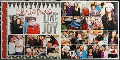 2 pages, 20+ photos | LauraVegas_ChristmasLoveJoy2012