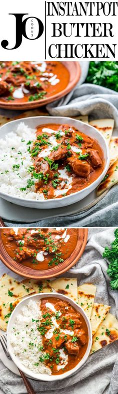 Now you can have restaurant style butter chicken homemade and in only 30 minutes. This Instant Pot butter chicken is extraordinary with a rich and creamy sauce and a fantastic blend of spices.