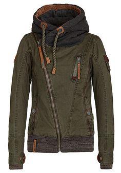 NAKETANO Walk The Line Jacke für Damen Grün Planet Sports