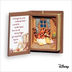 Surprised 2 Meet You Pooh Book 10 2007 Hallmark Keepsake Ornament QXD4417 *** Click image to review more details.