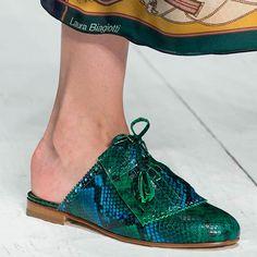 Laura Biagiotti scarpa pitone