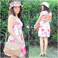 Blanco Dress, Marypaz Sandals