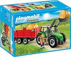 Playmobil - 6130 - Tracteur avec pelle et remorque, http://www.amazon.fr/dp/B00O4E35FU/ref=cm_sw_r_pi_awdl_FhKbxbWGZD28S