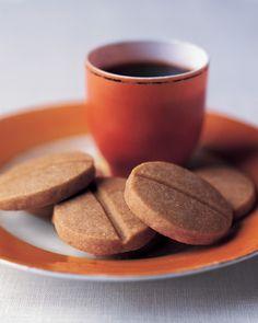 Espresso Shortbread