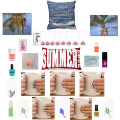 Summer Love Nail Art, Polishes, Jewelry, Beach Pillows, Palm Trees Postcards by TamiraZDesigns on Polyvore featuring beauty, custom Minx Nails designed by TamiraZDesigns, Lauren B. Beauty, Jin Soon, Nails Inc., L'Oréal Paris and OPI.   Original Artwork, Text sayings & Photography © TamiraZDesigns.  All rights reserved. Visit TamiraZDesigns store:  www.zazzle.com/tamirazdesigns*