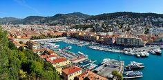Il porto di Nizza dal Castello. Photo by Tobi 87 (Own work) [GFDL (http://www.gnu.org/copyleft/fdl.html) or CC BY-SA 3.0 (http://creativecommons.org/licenses/by-sa/3.0)], via Wikimedia Commons
