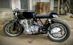 Yamaha XS 750 Triple Cafe Racer | 99garage | Cafe Racers Customs Passion Inspiration