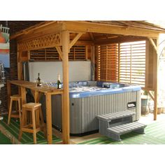 DIY hot tub enclosure winter - Google Search