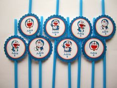 Cartoon and Animation Doraemon Cake, Unhappy Birthday, Anime Fnaf, Asian Love, Birthday Party Themes, Party Planning, Party Time, Birthdays, Kids