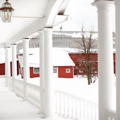 Winter at Beekman 1802 Farm in Sharon Springs, NY | beekman1802.com