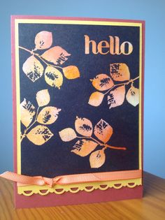 Kinda eclectic, Stampin Up Convention 2014