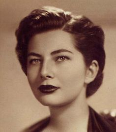 Soraya Esfandiary - She was the second wife of the last Shah of Persia, Reza Pahlevi, who divorced her after she was declared infertile. She actually consented to the divorce. She became an icon in the 60's, when she became known as the sad eyes princess.