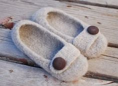 Felted Crochet Slippers Whoa cute!