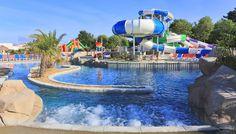 Un Parc Aquatique Exceptionnel Avec Toboggans Au Camping Club Le Trianon  Http://bougerenfamille
