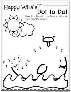 Summer Preschool Worksheets | Colores, Verano y Hojas de trabajo ...