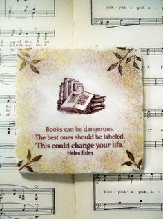 Love this quote. So true! #bookworm #coaster #ad