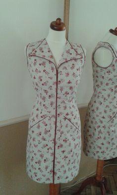 Rose dress Rose Dress, Dresses For Work, Fashion, Pink Sundress, Moda, La Mode, Fasion, Fashion Models, Trendy Fashion