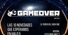 Diseño de Revista - GAME OVER