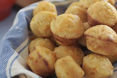 Easy Cheddar Cheese Muffins Recipe