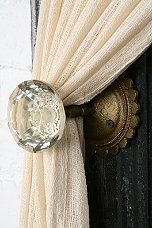 Urban Outfitters - Door Knob Curtain Tie-Back