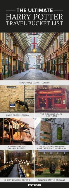 Muggles fulfilling this Harry Potter travel bucket list will be entirely convinced that magic truly does exist.