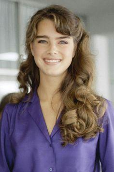 Brooke Shields 1980s hair