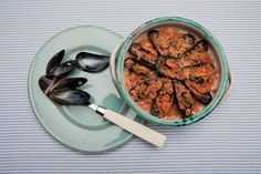 Cozze arraganate Acai Bowl, Risotto, Beans, Traditional, Dishes, Vegetables, Breakfast, Ethnic Recipes, Food