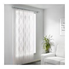 "$10, 24""wx118""h   MURRUTA Panel curtain  - IKEA"