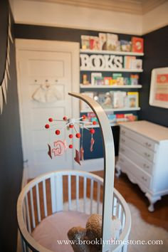Books inspired nursery decor