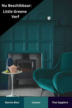 Do you want to update your house before the new year? Farrow Ball, Little Greene, Green Texture, Paint Brands, Shades Of Green, Color Inspiration, House Plans, Living Room, Bedroom