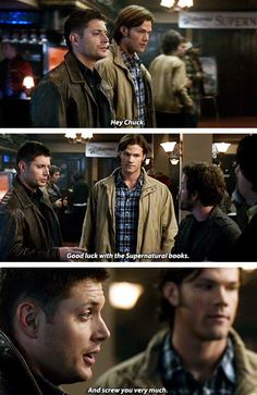 [gifset] 5x09 The Real Ghostbusters #SPN #Dean #Sam