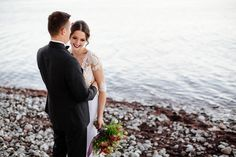 Wedding at Baltic Sea. Bride and groom inspiration. Baltic Sea, City Streets, Wedding Photoshoot, Wedding Images, We The People, Beautiful Landscapes, Mother Nature, The Good Place, Groom