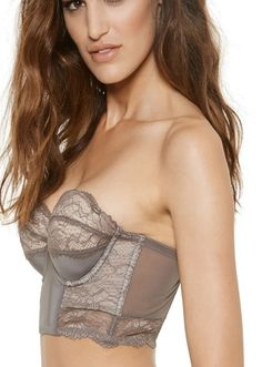 0231941 Dalliance Strapless Cropped Corset With Removable Cookies By Blush Lingerie available on Now That's Lingerie #ShopNTL
