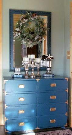 Martha Stewart Plumage color-matched to Behr's Paint and Primer in One
