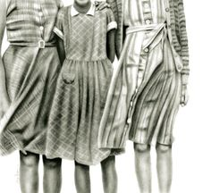 "Saatchi Online Artist: Sue Bryan; Charcoal, Drawing ""The Darling Buds of May"""