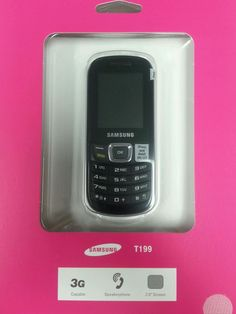 Brand New UNLOCKED Samsung SGH-T199  T199Quad Band GSM Basic World Phone #Samsung #Bar