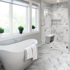 Style Selections Statuary White 12-in x 24-in Matte Porcelain Marble Look Floor Tile in the Tile department at Lowes.com Marble Bathroom Floor, White Marble Bathrooms, Tile Floor, Master Bathroom, Half Bathrooms, Condo Bathroom, Marble Porcelain Tile, Best Bathroom Designs, Bathroom Ideas