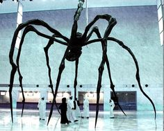 """Maman"" at the Qatar Museums Authority - Louise Bourgeois"