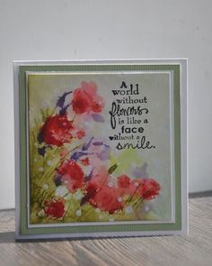 Flowers in the wind by kitty1wu - Cards and Paper Crafts at Splitcoaststampers