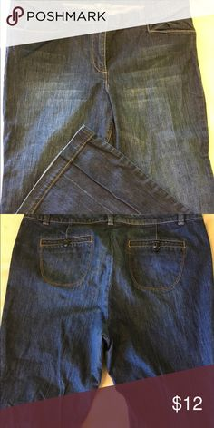 New York Co Flare jeans in tall These tall jeans have a nice fit and a fun flare at the bottom. Excellent condition. New York Co Jeans Flare & Wide Leg