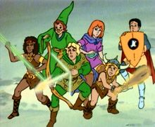 dungeons and dragons - still a great cartoon