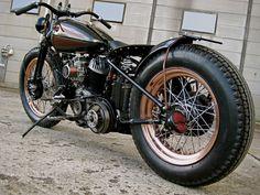 Flathead | Bobber Inspiration - Bobbers and Custom Motorcycles | shotbike September 2014
