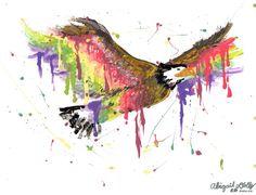 Spirit Eagle by Abracadabagail