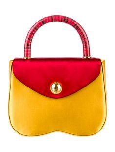 Carried away with this Miu Miu Satin Handle Bag.