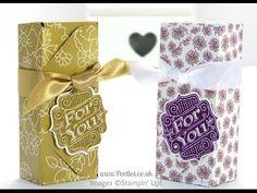 6x6 envelope punch box tutorial