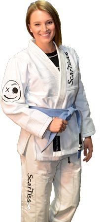 ScarTissue MMA Women's Gi Based on my current rate of injury, I think wearing this gi would be hilarious...
