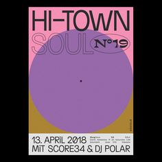 Hi-Town Soul N°19 on Behance